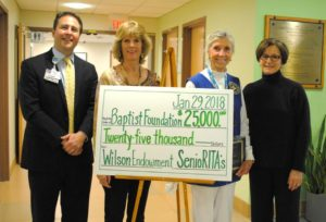 Wilson Endowment 2018 SenioRITA Check Presentation