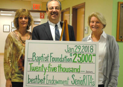 BestBet Endowment 2018 SenioRITA Check Presentation