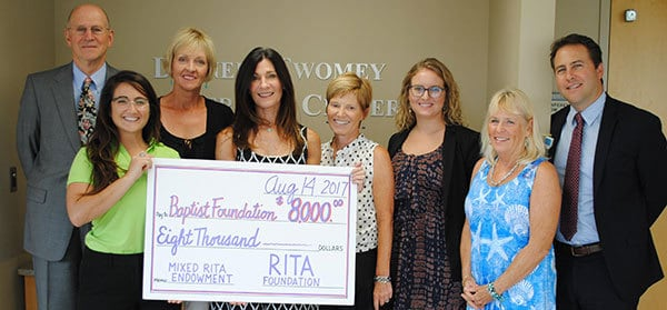 Baptist Foundation 2017 MixedRITA Check Presentation