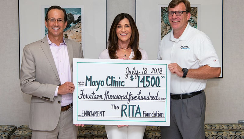 Mayo Clinic Jacksonville receives $ 14,500.00