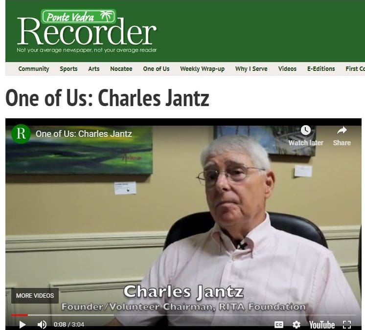 One of Us: Charles Jantz